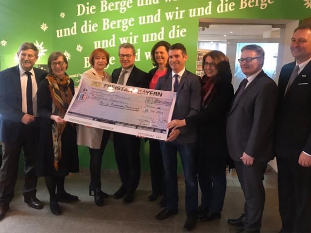 Freistaat fördert Umbau des Alpinen Museums mit 800.000 Euro
