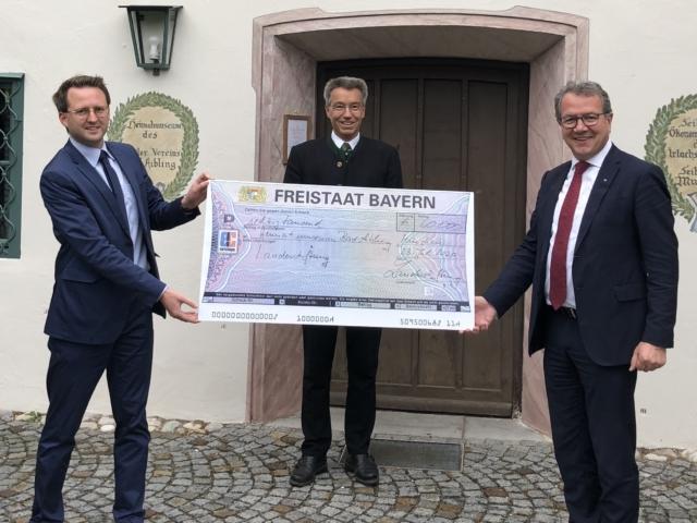 Zuschüsse der Bayerischen Landesstiftung zugesagt um verschiedene Projekte in Stadt und Landkreis Rosenheim zu fördern