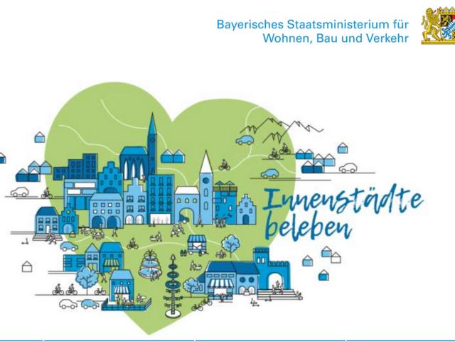 """Sechs Gemeinden und Städte im Landkreis Rosenheim profitieren vom Sonderfonds """"Innenstädte beleben"""""""
