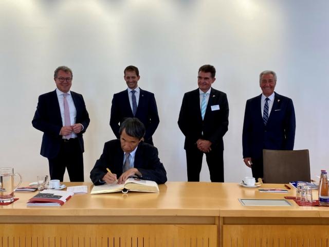 Städtepartnerschaft Rosenheim – Ichikawa: Kooperation von IT-Startups wird angestrebt